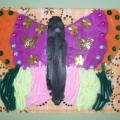 Картина в смешанной технике «Весёлая бабочка»