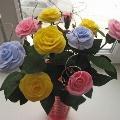 Мастер-класс. Розы из салфеток