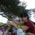 Туристические прогулки в детском саду.
