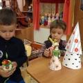 Занятие по ознакомлению с народной игрушкой в средней группе. Дымковская роспись