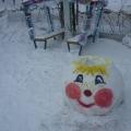 Зимнее оформление участка в МАДОУ 216 г. Кемерово