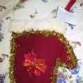 Новогодняя поделка «Варежка Деда Мороза»