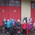 Экскурсия с детьми старшей группы в пожарную часть