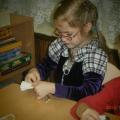 Фотоотчёт об изготовлении кукол-кувадок для участия в миротворческой акции «Гирлянда дружбы»