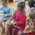 Конспект занятия по сенсорному воспитанию детей младшего возраста