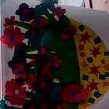 Детские ладошки-пальчики цветочки!