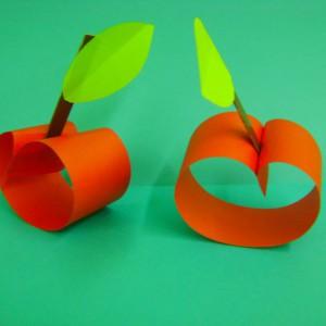 Поделки яблоко из бумаги своими руками 79