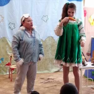 Фотоотчет о театрализованном представлении «Ленивая Марфа»